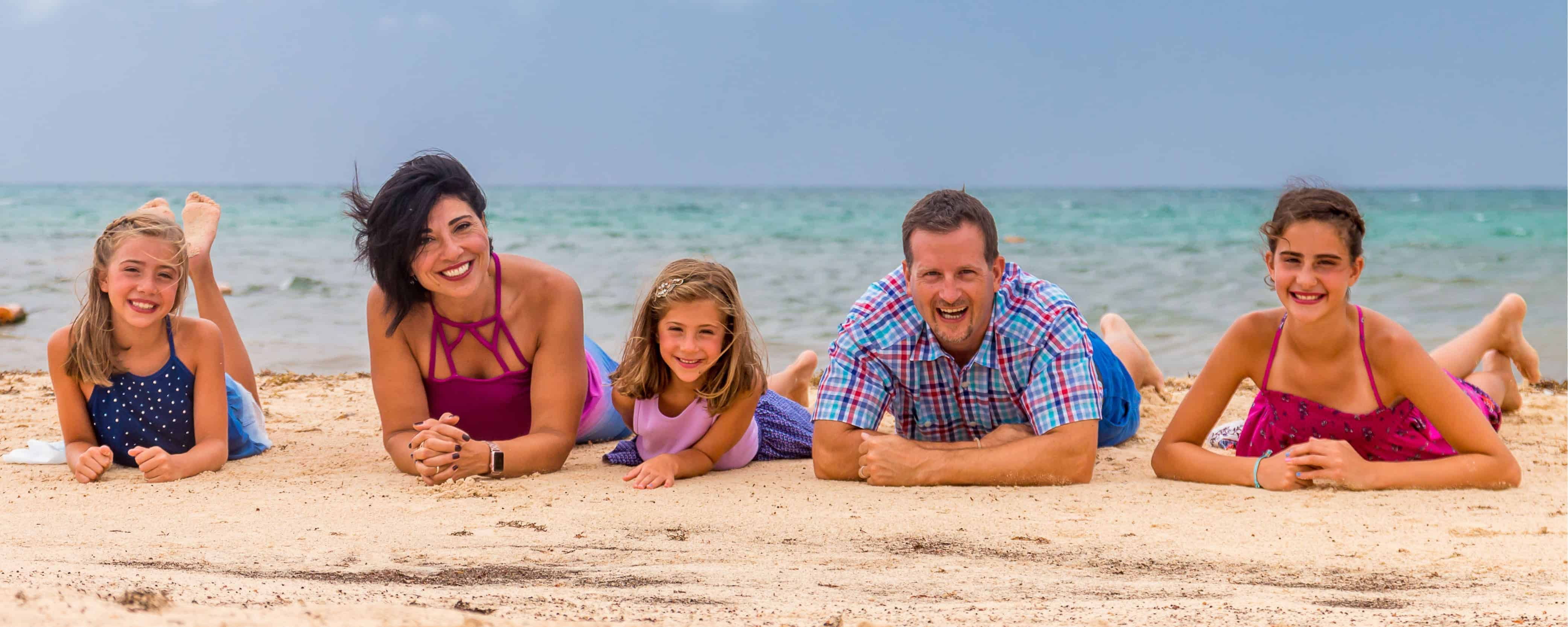 waked family at beach - Waked Dental - Strongsville