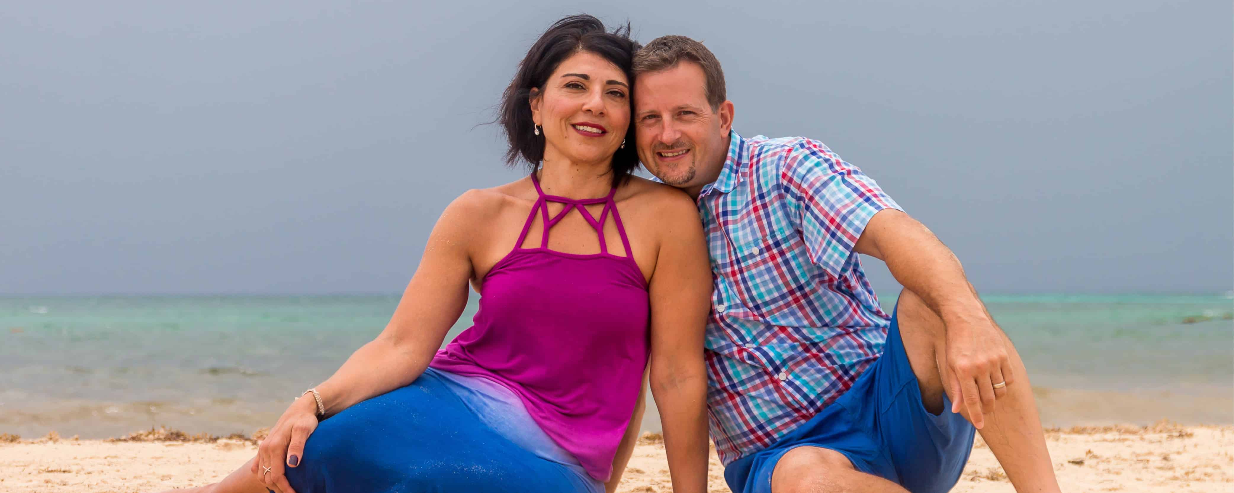 Dr. Waked and husband - Waked Dental - Strongsville