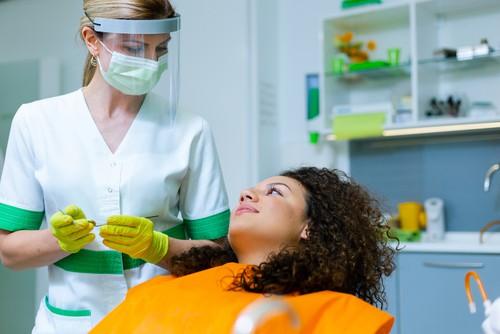 dentist in full PPE